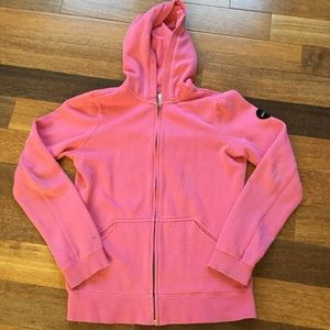 RVCA Pink Zip-Up Jacket Size Small